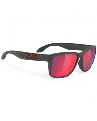 Rudy Project Occhiali Spinhawk, Carbonium - RP Optics Multilaser Red