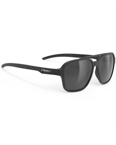 Rudy Project Occhiali Croze, Black Matte - RP Optics Smoke Black