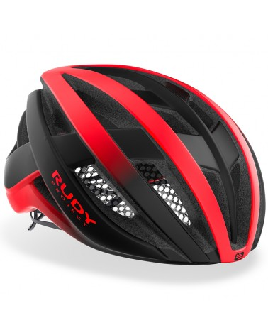 Rudy Project Venger Cycling Helmet, Red/Black (Matte)
