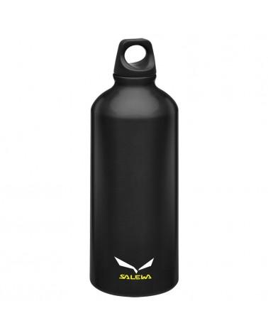 Salewa Traveller Alu Bottle Borraccia in Alluminio 0,6 L, Black