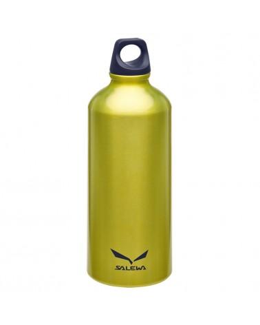 Salewa Traveller Alu Bottle Borraccia in Alluminio 0,6 L, Yellow