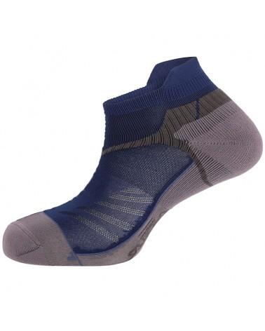 Salewa Lite Trainer Unisex Trail Running Socks, Prince Blue/Ombre Blue
