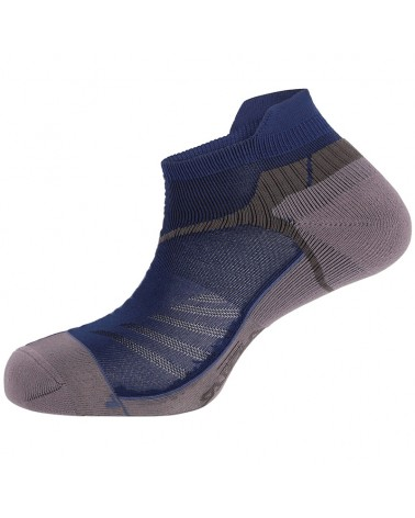 Salewa Lite Trainer Unisex Trail Running Socks, Prince Blue/Ombre Blue