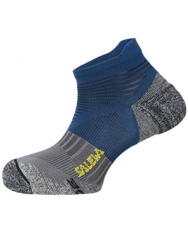 Salewa Approach Edge N Unisex Trekking/Approach Socks, Blue/Ombre Blue