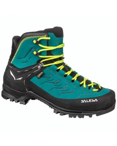 Salewa Rapace GTX Gore-Tex WS Women's Alpine Boots, Shaded Spruce/Sulphur Spring