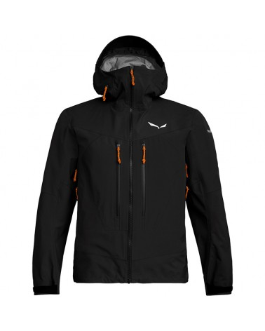 Salewa Ortles 3 GTX Gore-Tex Pro M'ens Layers Shell Jacket, Black Out