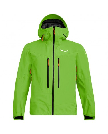 Salewa Ortles 3 GTX Gore-Tex Pro M'ens Layers Shell Jacket, Pale Frog
