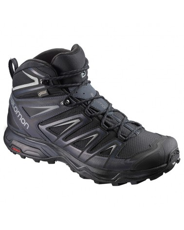 Salomon X Ultra 3 MID GTX Gore-Tex Scarpe Uomo, Black/India Ink/Monument