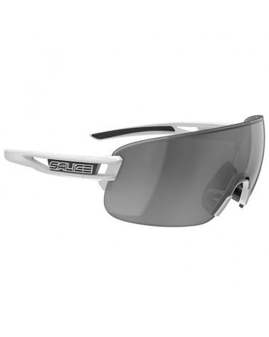 Salice 021 RW Glasses White/RW Black + Clear Lenses