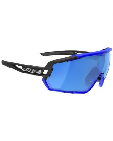 Salice 020 RW Glasses Black-Blue/RW Blue + Clear Lenses