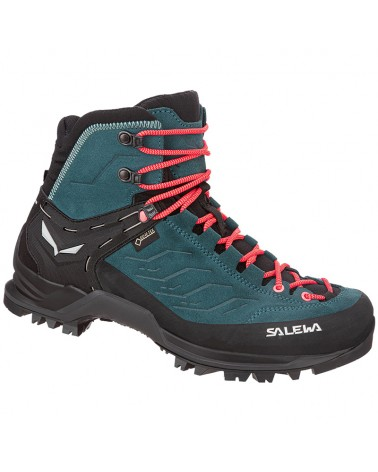 Salewa MTN Trainer Mid GTX Gore-Tex WS Women's Alpine Boots, Atlantic Deep/Ombre Blue