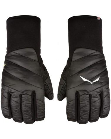Salewa Ortles 2 PRL Polarlite Primaloft Gloves, Black Out
