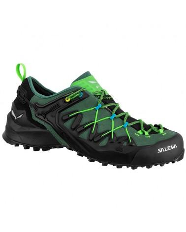 Salewa MS Wildfire Edge GTX Gore-Tex Men's Shoes, Myrtle/Fluo Green