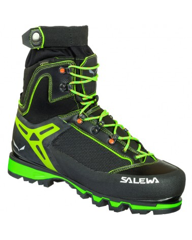 Salewa Vultur Vertical GTX Gore-Tex MS Men's Alpine Boots, Black/Cactus