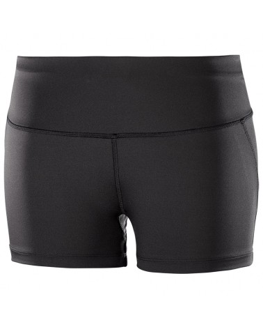 Salomon Agile Short Tight W Pantaloncini Donna Taglia M, Black