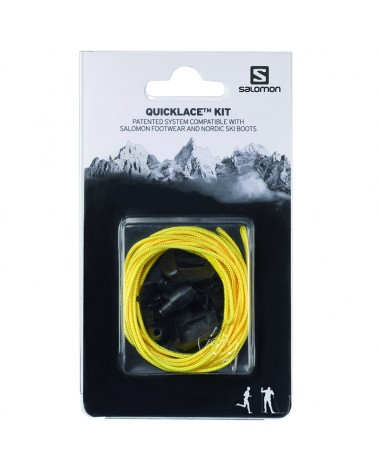 Salomon Lacci Scarpe Quicklace Kit Yellow