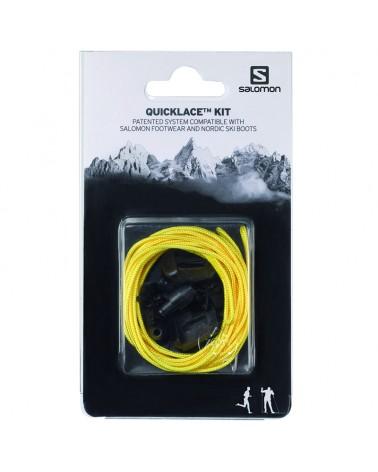 Salomon Lacci Scarpe Quicklace Kit Yellow