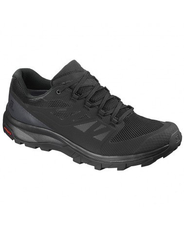 Salomon Outline GTX Gore-Tex Scarpe Uomo, Black/Phantom/Magnet