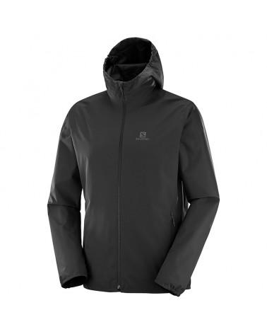 Salomon Essential JKT Men's Waterproof Jacket, Black