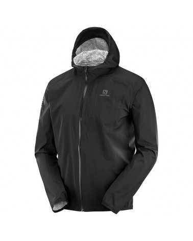 Salomon Bonatti WP JKT Men's Waterproof Jacket, Black