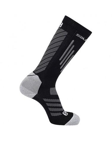 Salomon Compression Unisex Trail Running Socks, Black
