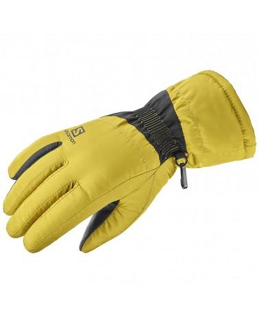 Salomon Force W Women's Winter Gloves, Golden Palm/Black