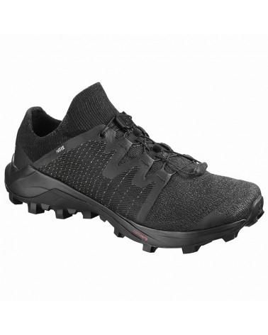 Salomon Cross/Pro Men's Trail Running Shoes, Black/Black/Black