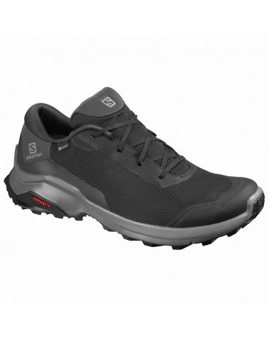 Salomon X Reveal GTX Gore-Tex Men's Trekking Shoes, Black/Phantom/Magnet