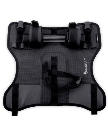 Acepac Bar Harness for Bar Drybag, Black