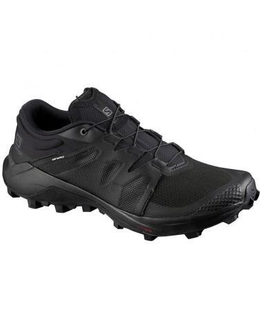 Salomon Wildcross Scarpe Trail Running Uomo, Black/Black/Black
