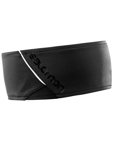 Salomon RS Headband, Black/Black/Shiny Black (One Size Fits All)