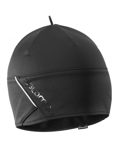 Salomon RS Beanie, Black/Black/Shiny Black (One Size Fits All)