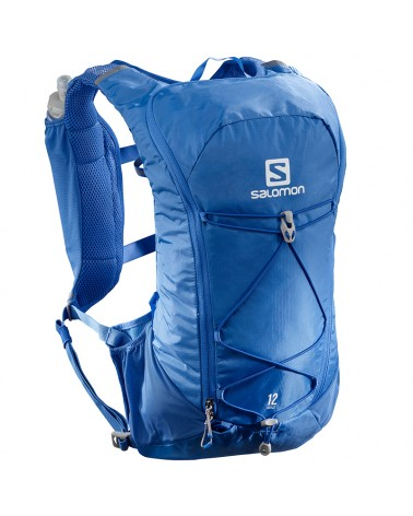 Salomon Agile 12 Set Zaino Idrico Running, Nebulas Blue (2 Flask da 500 ml Inclusi)