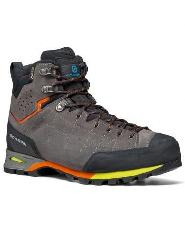 Scarpa Zodiac Plus GTX Gore-Tex Men's Trekking Boots, Shark/Orange