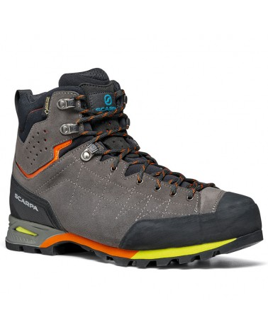 Scarpa Zodiac Plus GTX Gore-Tex Scarponi Uomo, Shark/Orange