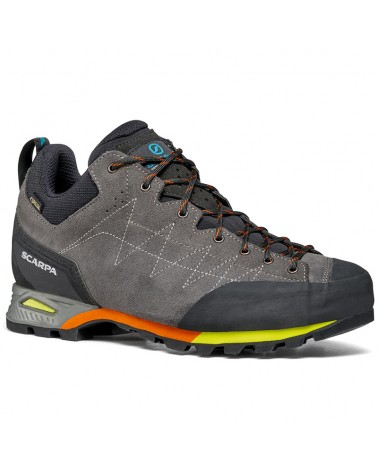 Scarpa Zodiac GTX Gore-Tex Men's Trekking/Approach Shoes, Shark/Orange