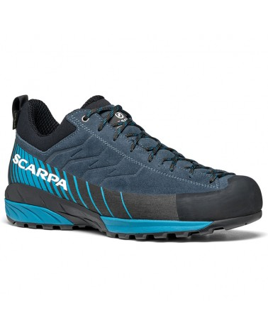 Scarpa Mescalito GTX Gore-tex Men's Approach Shoes, Ottanio/Lake Blue