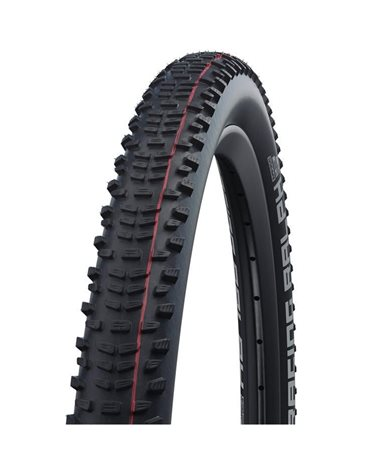 Schwalbe Racing Ralph 29x2.35 EVO SnakeSkin Super Ground Addix Speed Tubeless Ready Tyre, Black