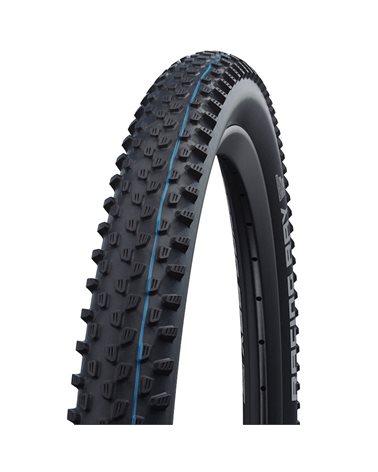 Schwalbe Racing Ray 29x2.25 EVO SnakeSkin Super Ground Addix Speedgrip Tubeless Ready Tyre, Black