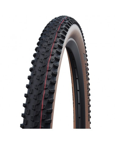 Schwalbe Racing Ray 29x2.25 EVO SnakeSkin Super Race Addix Speedgrip Tubeless Ready Tyre, Transparent-Skin