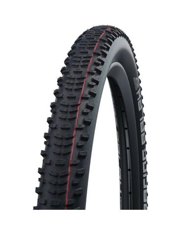 Schwalbe Racing Ralph 29x2.10 EVO SnakeSkin Super Ground Addix Speed Tubeless Ready Tyre, Black