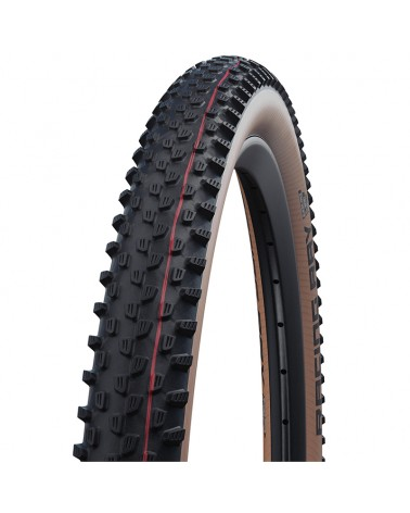 Schwalbe Racing Ray 29x2.35 EVO Super Race Addix Speed Tubeless Ready Tyre, Transparent-Skin