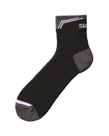 Shimano Performance Normal Ankle Socks Calze Ciclismo Altezza Media, Black