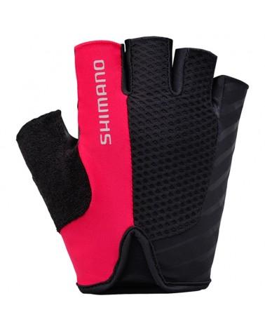 Shimano Touring Gloves Guanti Estivi, Red