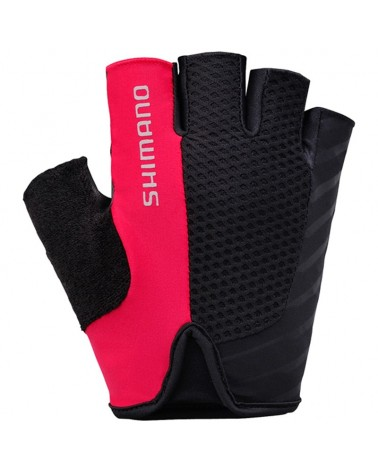 Shimano Touring Gloves Guanti Estivi, Red