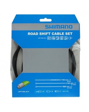 Shimano Kit Filo Cambio Optislik Strada - Nero