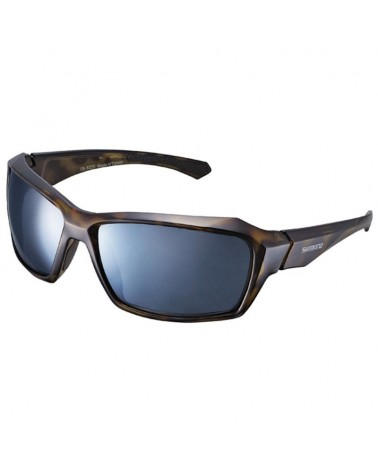 Shimano Occhiali CE-S22X Brown Tortoise (Bekko) Black- Smoke Silver Mirror