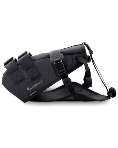 Acepac Saddle Harness Imbracatura Borsa Sottosella Saddle Drybag, Nero