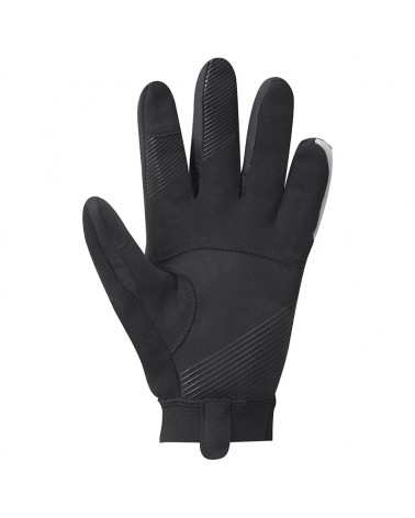 Shimano Wind Control Men's Winter Gloves, Black