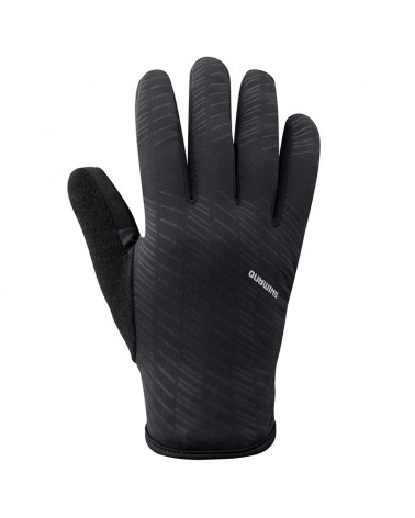 Shimano Early Winter Men's Cycling Winter Gloves Size M, Black